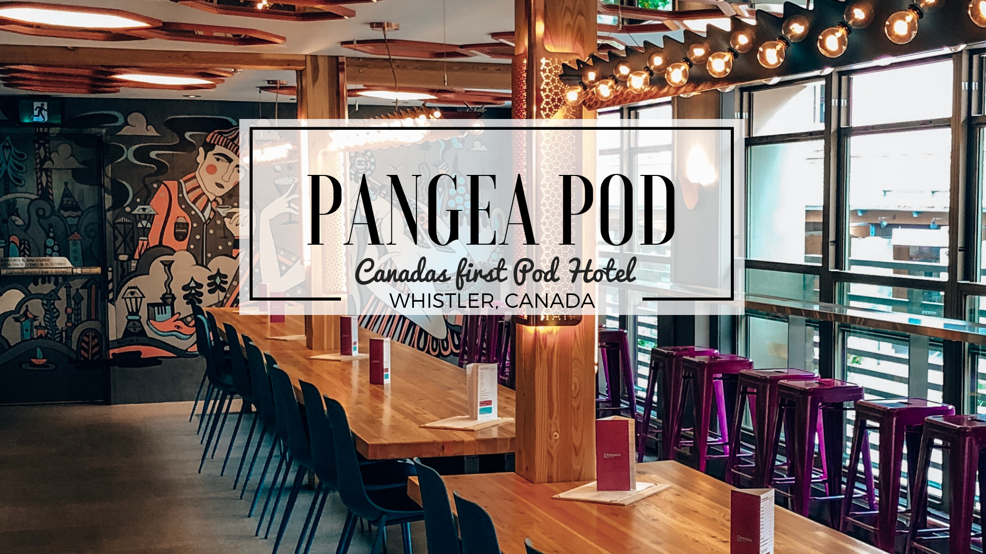 Pangea Pod Hotel Blog Post