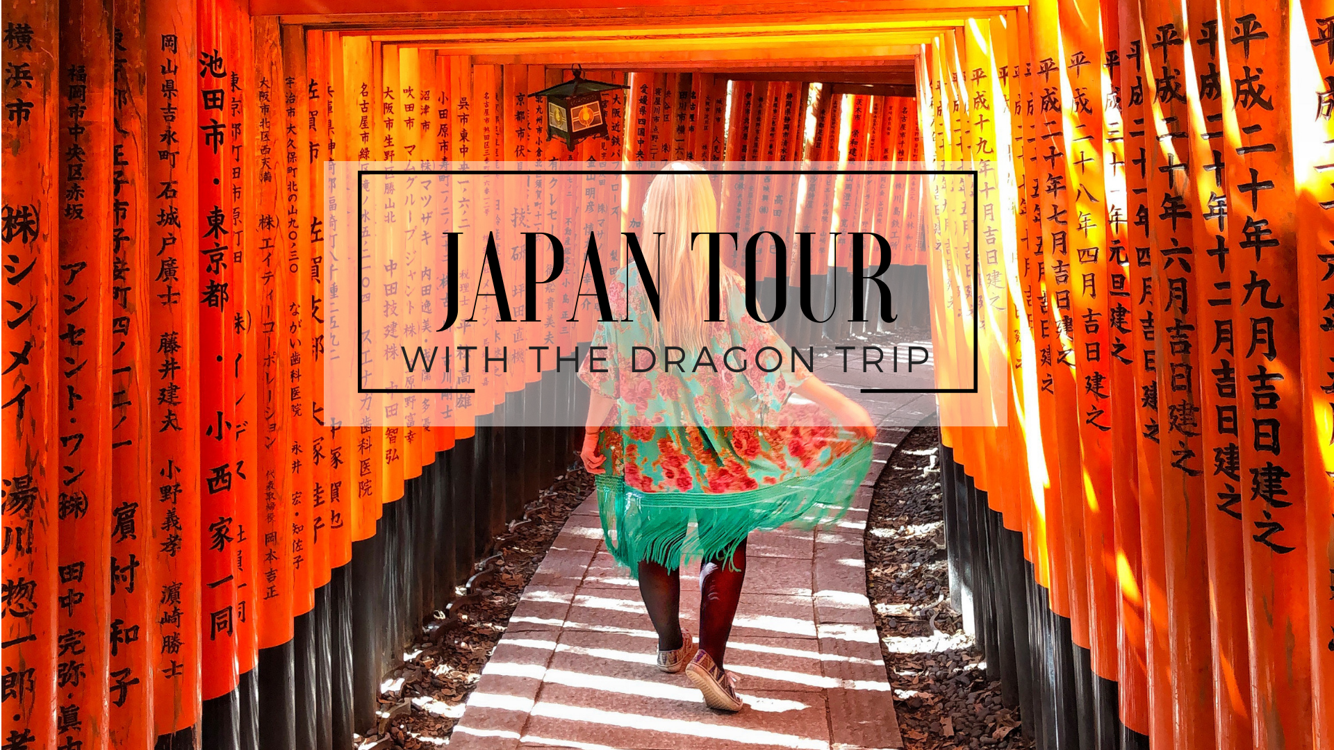 Dragon Trip Japan Tour
