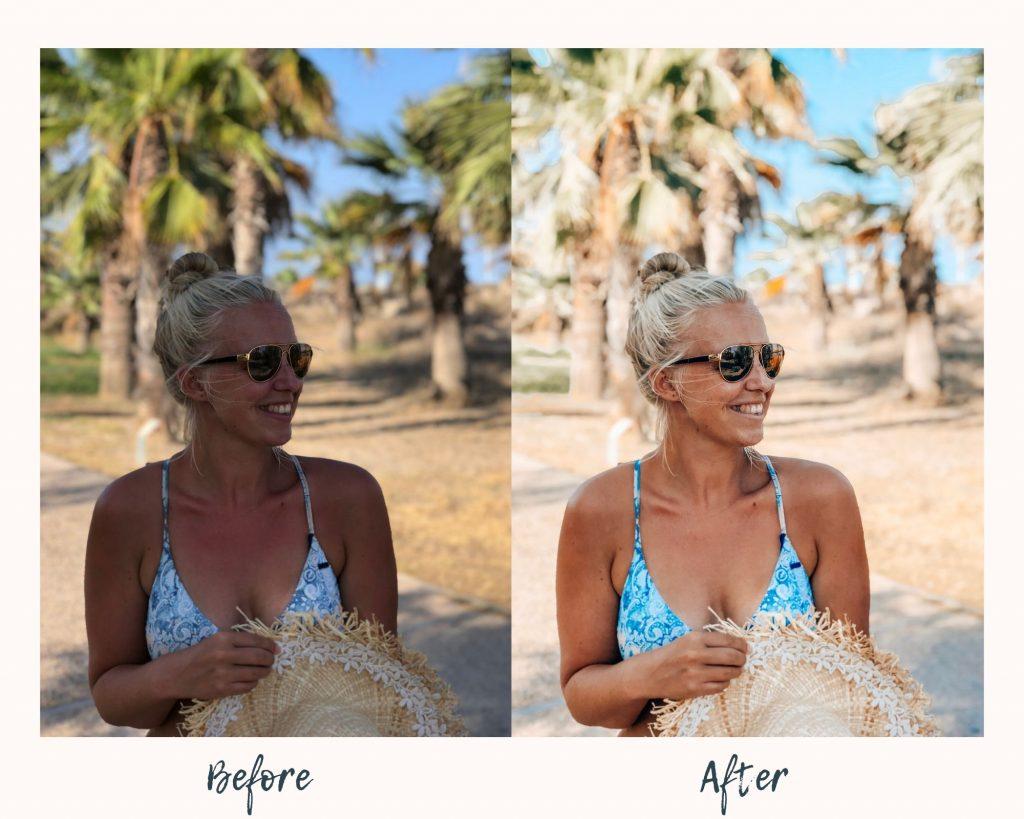 Cancun Mobile Lightroom Preset Ever the Wanderer