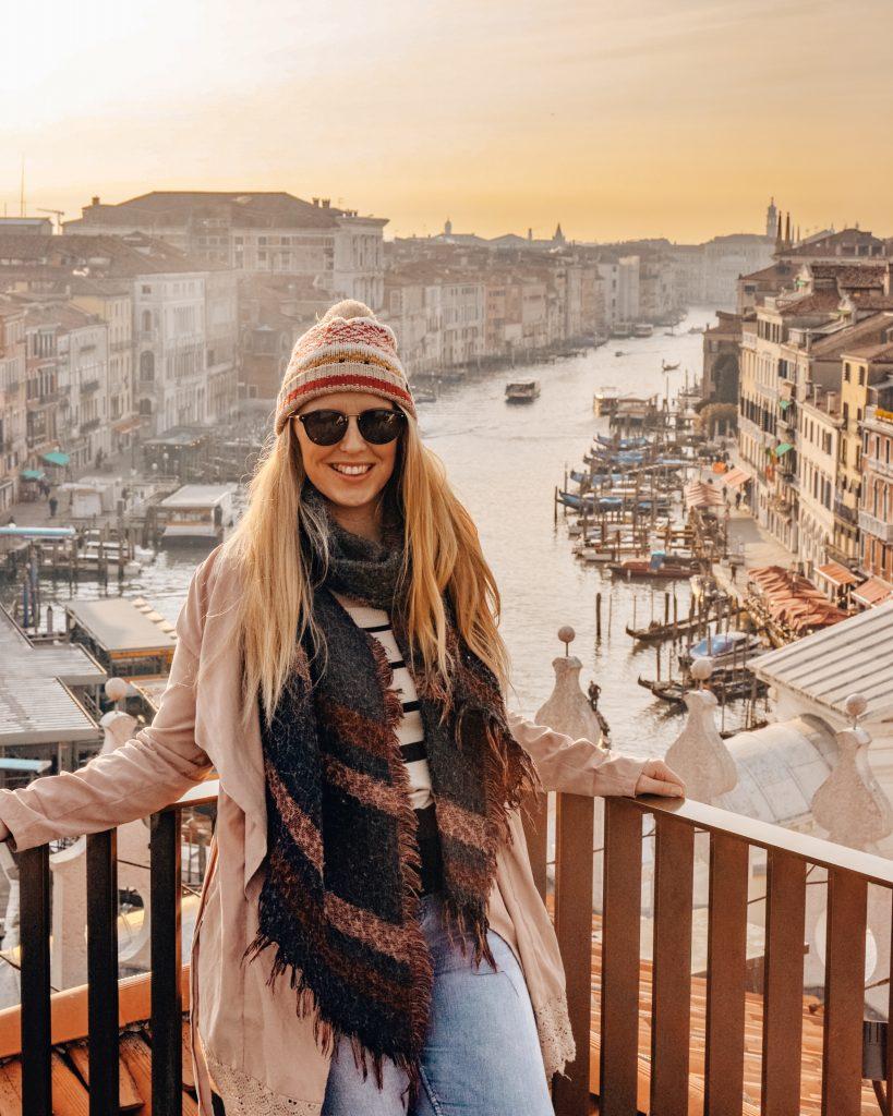 Fondaco Dei Tedeschi Viewpoint in Venice Italy