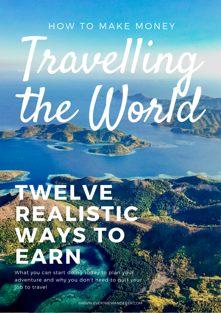 How to make money travelling the world