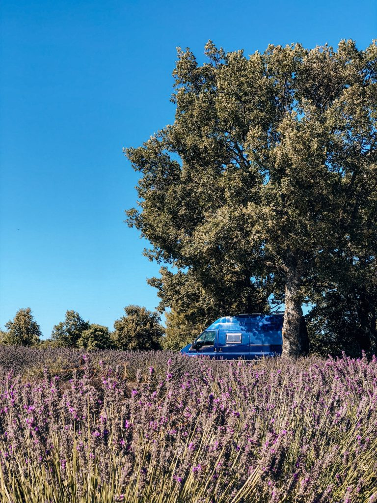 Freecamping in Valensole
