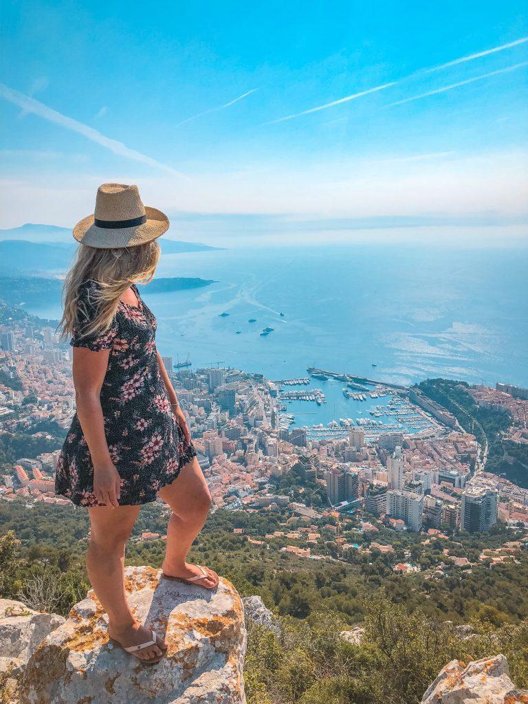 Monaco Views at Tete de Chien