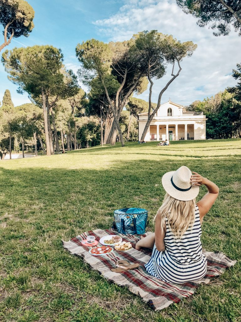 Rome Free camping