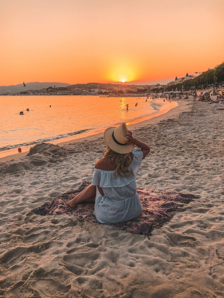 Cannes Sunset