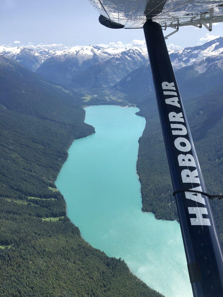 Cheakamus Lake from Float Plane
