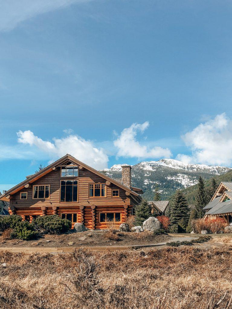 Log Cabin Green Lake Whistler