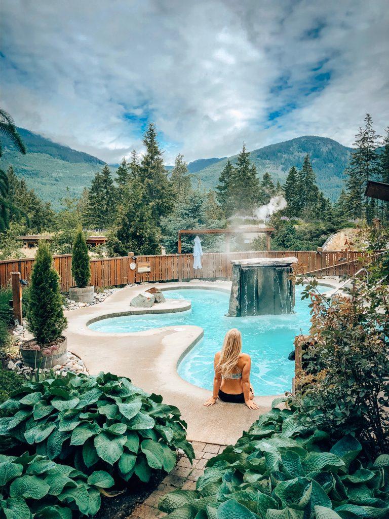 Scandinave Spa Whistler Pool