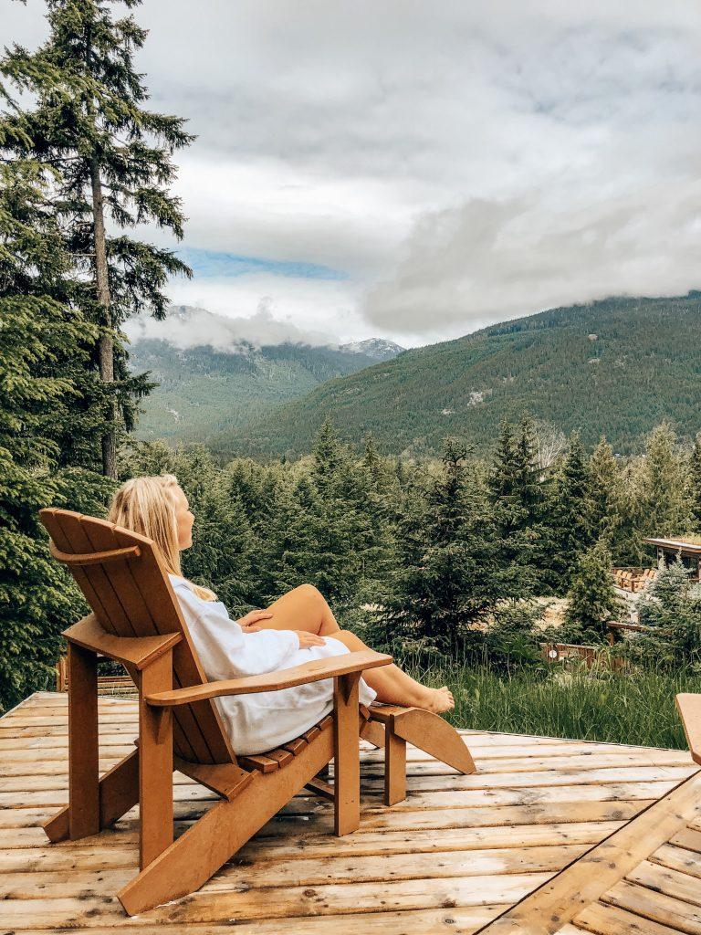 Scandinave Spa Whistler View