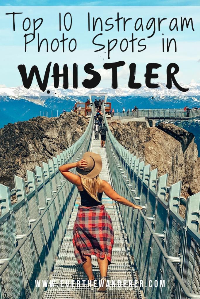 Whistler Instagram Spots