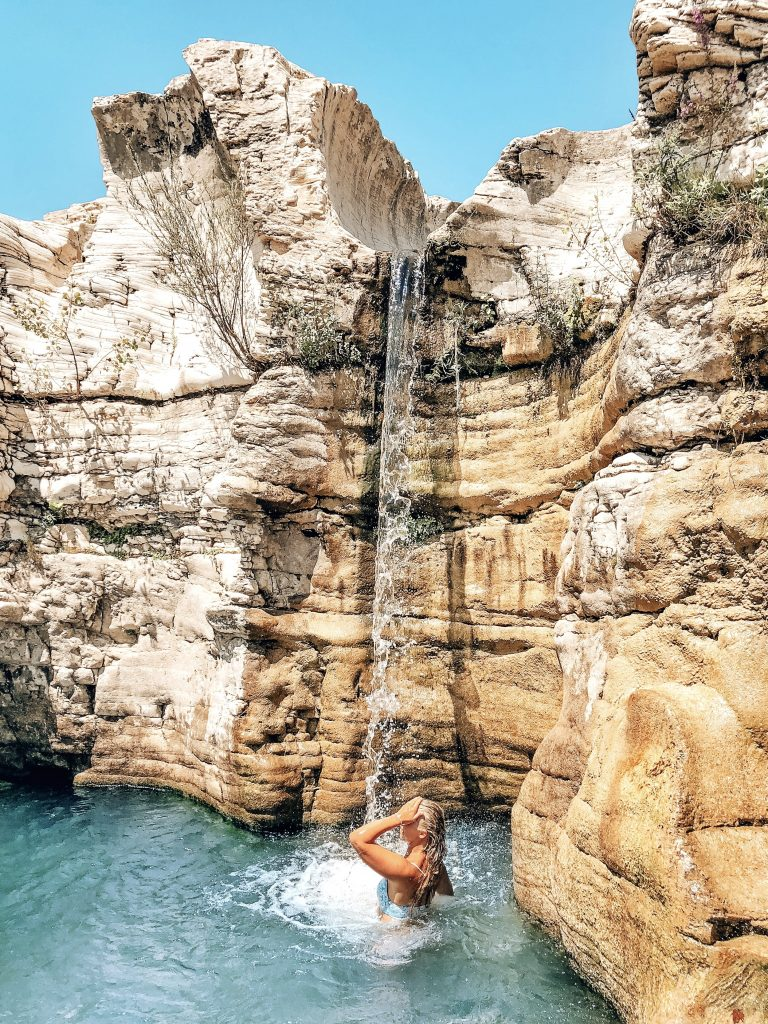 cascade du sautadet waterfall