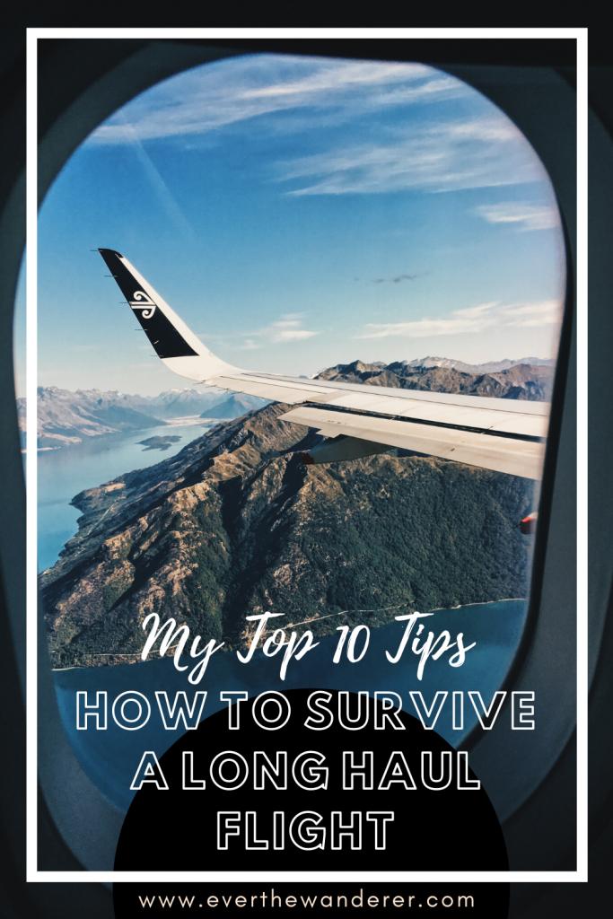 top 10 tips on flying long haul