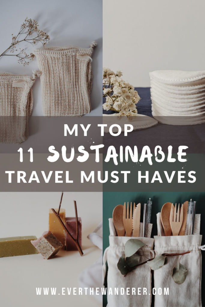 Top 11 sustainable travel must haves