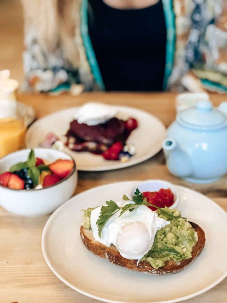 The Bear Wareham Breakfast Spread