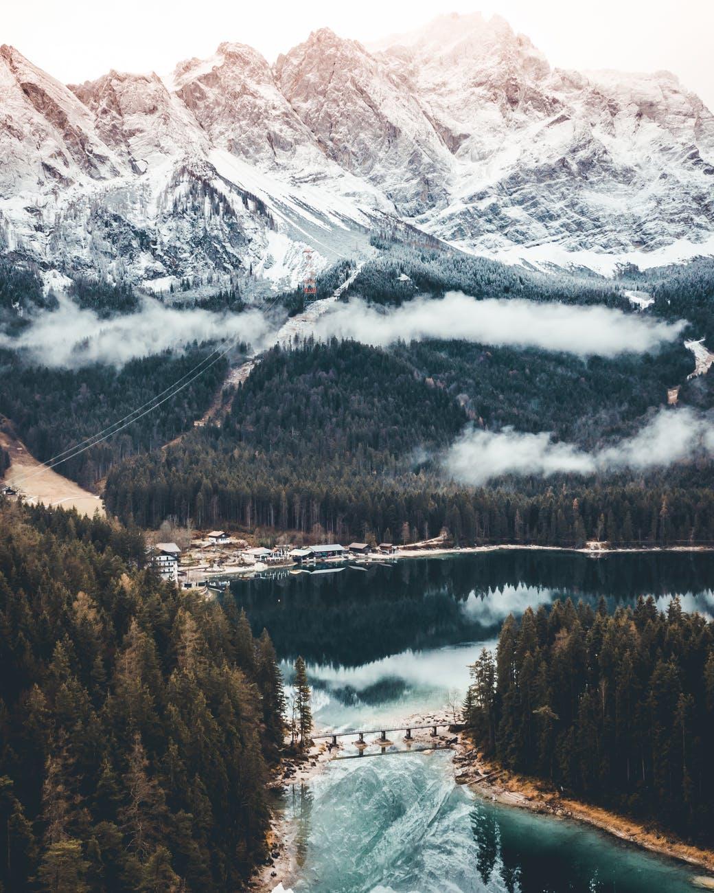 Zugspitze, Bavarian Alps.